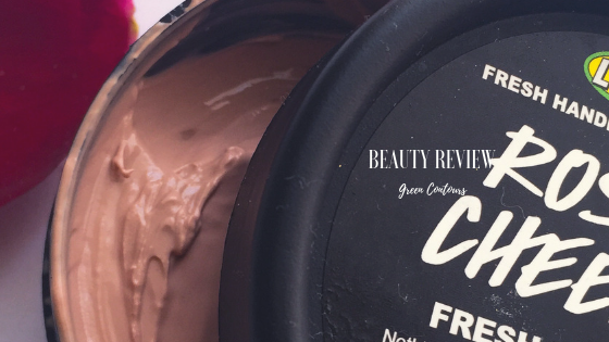 Honest Review: Lush Rosy Cheeks Fresh FaceMask